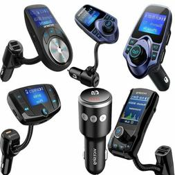 Victsing Wireless Bluetooth Car FM Transmitter  MP3 Player R