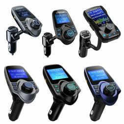 Wireless Bluetooth Car Kit FM Transmitter Radio Adapter USB