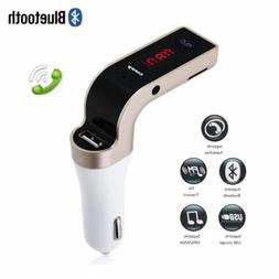 Wireless Bluetooth Car Kit MP3 Player FM Transmitter for Cel