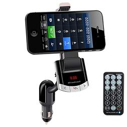 wireless bluetooth fm transmitter car