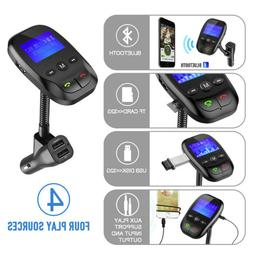 Wireless Bluetooth FM Transmitter MP3 Radio Adapter In Car K