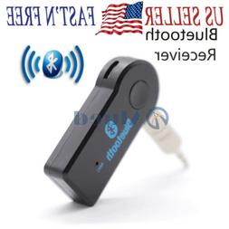 Wireless Bluetooth Receiver 3.5mm Aux Stereo Audio Music Car