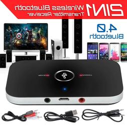 Wireless Bluetooth Transmitter Receiver A2DP Home TV Stereo