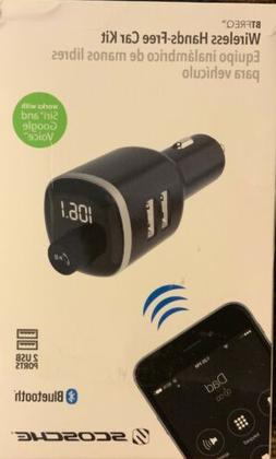 SCOSCHE Wireless Hands Free Car Kit~Bluetooth~ FM transmitte
