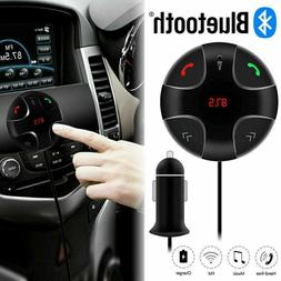 Wireless Handsfree Bluetooth FM Transmitter MP3 Player 2 USB