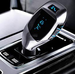 X5 Wireless Car Bluetooth FM Transmitter MP3 Radio Adapter C