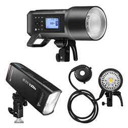 Flashpoint XPLOR 600PRO TTL Battery-Powered Monolight Kit wi
