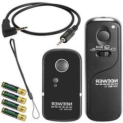 Neewer YP-860/DC0 Camera Shutter Release Wireless Remote Tra